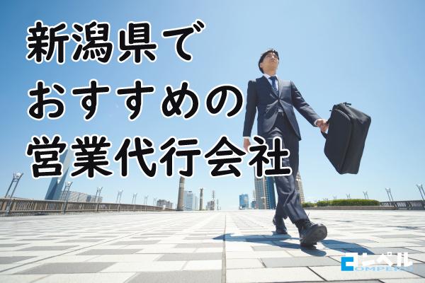 新潟県おすすめ営業代行会社